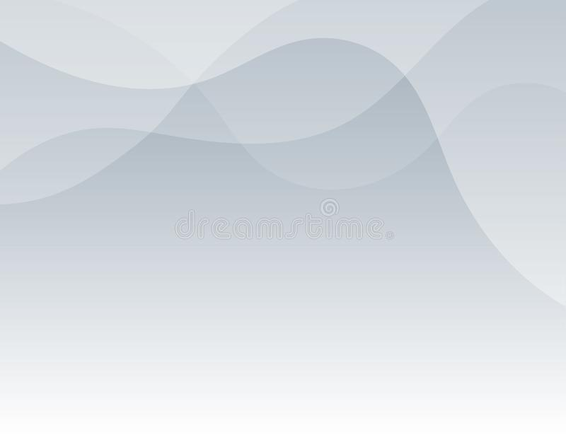 Gray line wave abstract background vector vector illustration