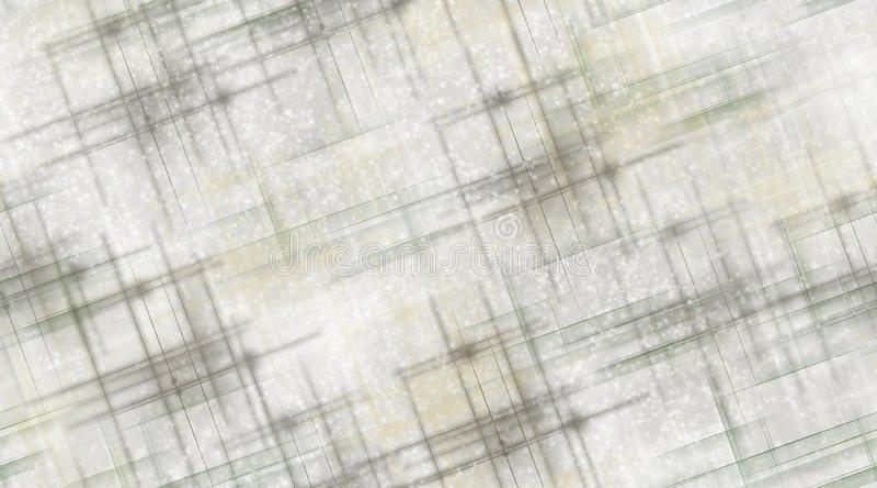 Gray Lines und Schnee vektor abbildung