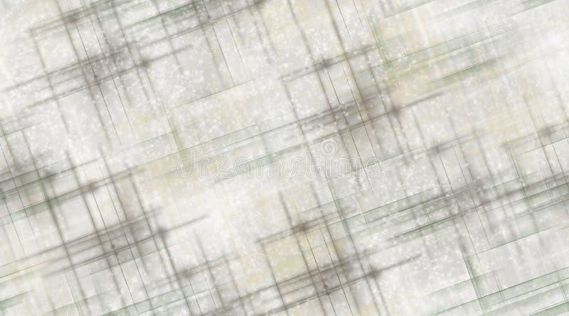 Gray Lines y nieve ilustración del vector