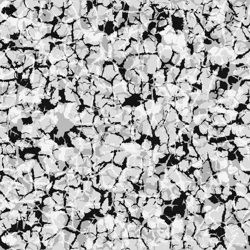 Gray marble seamless pattern royalty free illustration