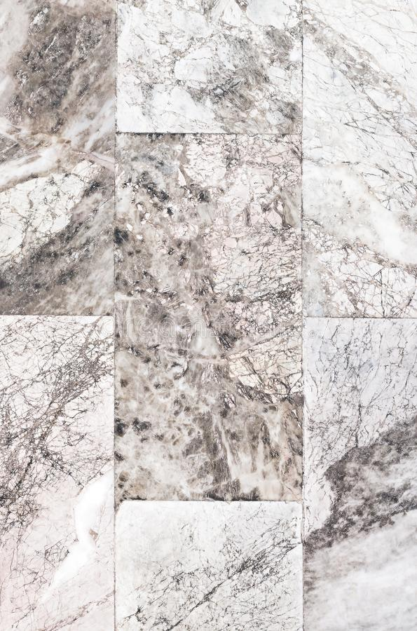 Gray marble stone tiled floor royalty free stock photos