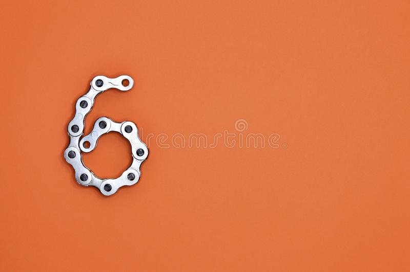 Gray Metal Chain stock photography
