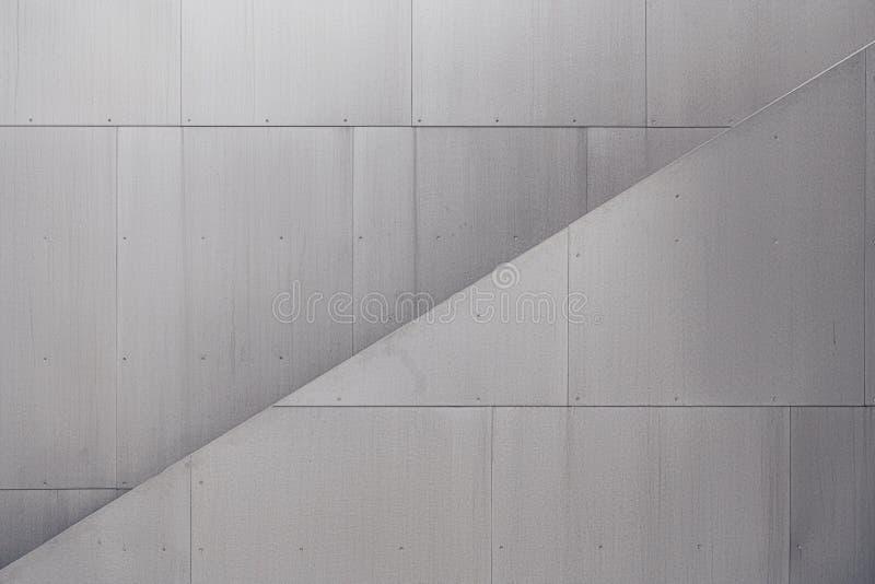 Gray modern wall. Gray graphic modern wall, horizontal stock images