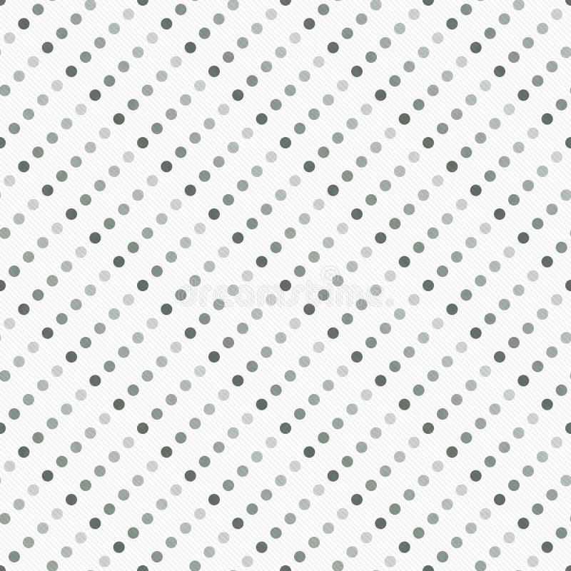 Gray Multicolored e Polka bianca Dot Abstract Design Tile Patt immagine stock