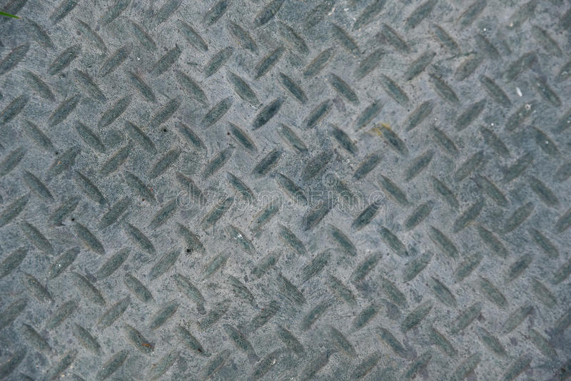 Gray old and dirt metal plate texture of industrial factory floor background.  royalty free stock photos