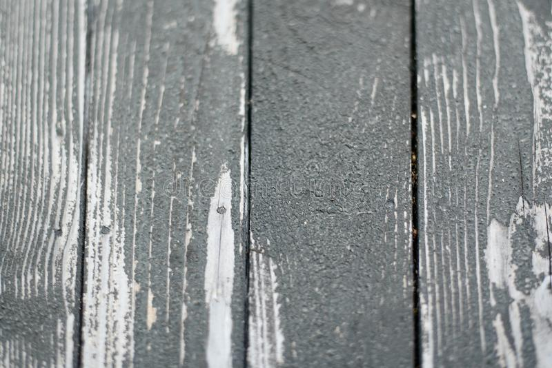 Gray old wooden boards. Natural background royalty free stock image