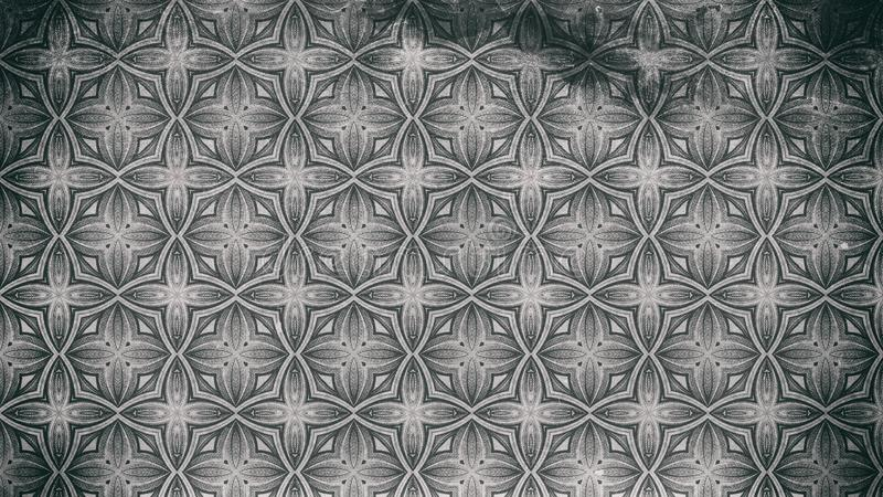 Gray Ornamental Vintage Background Pattern oscuro libre illustration