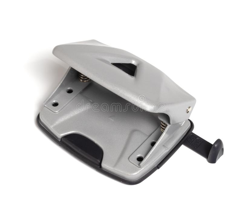 Paper hole punch stock image