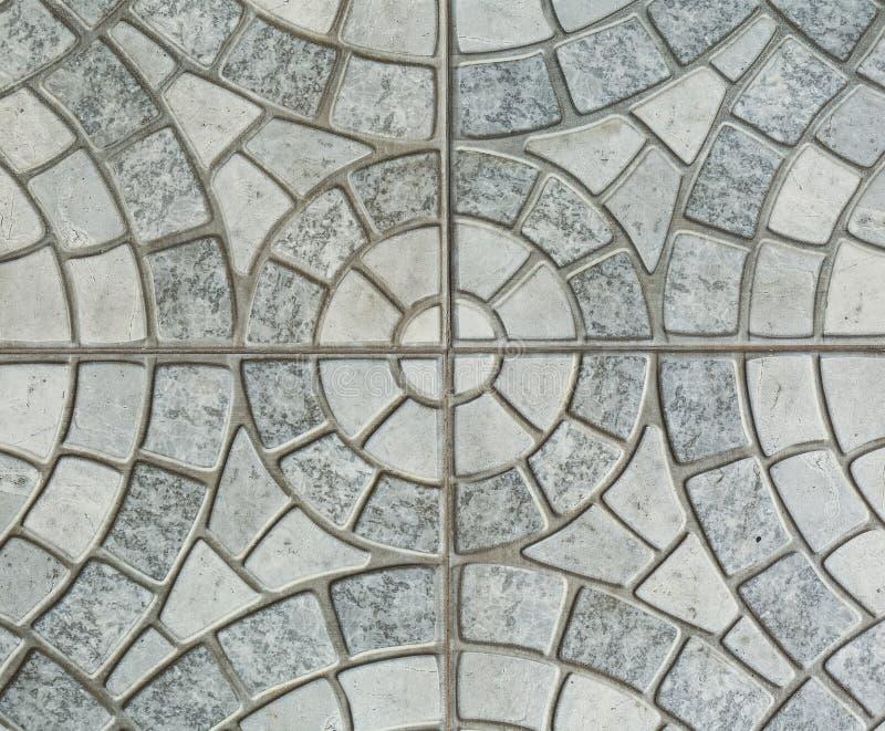 Download Gray Paving Slabs - Modell Av Cirkeln Arkivfoto - Bild av textur, konstruktion: 76703466