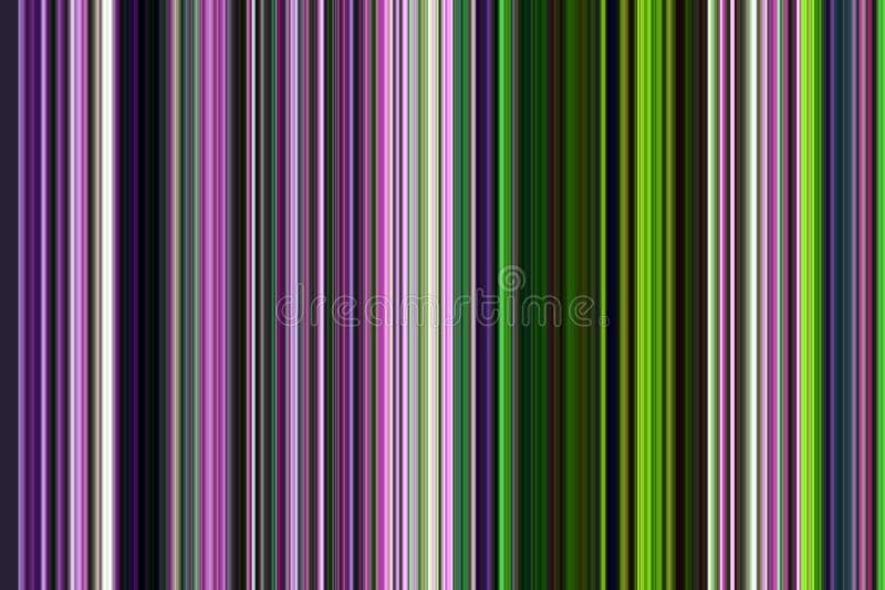 Gray, pink phosphorescent brown green violet dark blue lines. Colorful pattern , design royalty free illustration