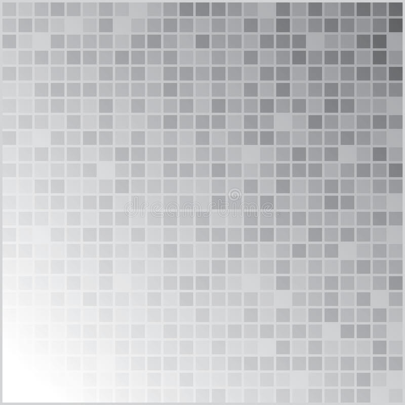 Gray Pixel Background illustration stock