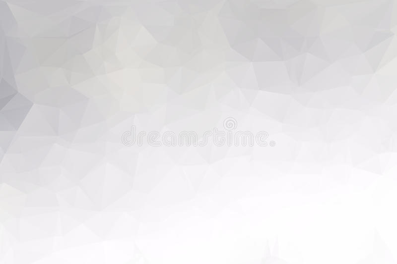 Gray Polygonal Mosaic Background stock image