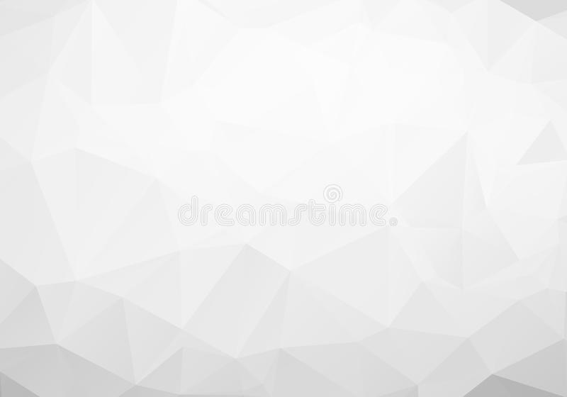 Gray Polygonal Mosaic Paper Background, illustration de vecteur illustration stock
