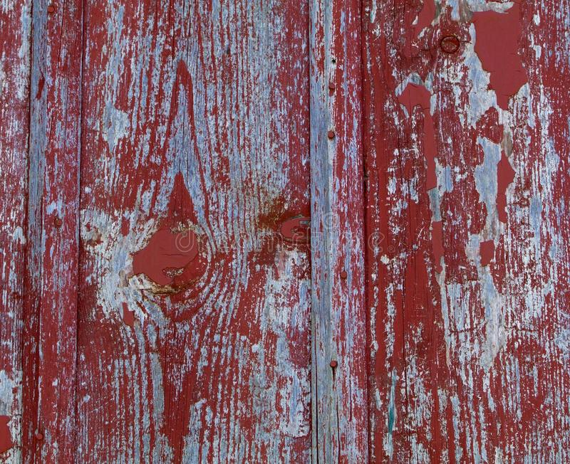 Gray Red Barn Wood royaltyfria foton
