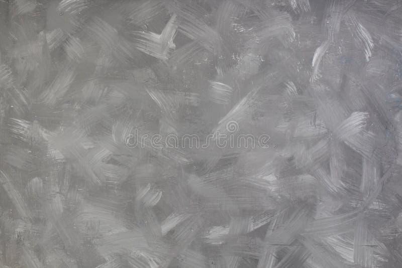 Gray Retro Stucco pintou o fundo Espaço vazio riscado para o texto foto de stock