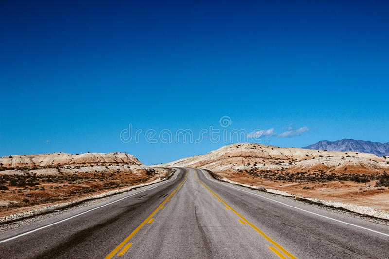 Gray Road Beside Brown Dessert Under Blue Sky Free Public Domain Cc0 Image