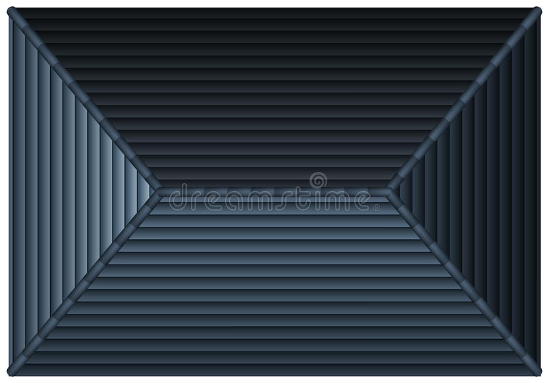 Gray Rooftop From Top View Stock Vector Image 59013272