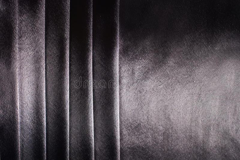 Gray satin. Background with stripes royalty free stock photography