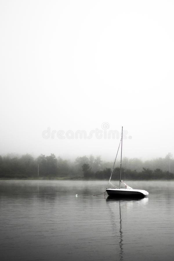 Gray Scale Photo Of A Boat On Body Of Water Free Public Domain Cc0 Image