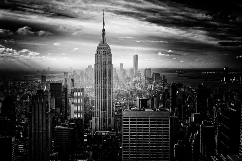 Gray Scale Photo Of Empire State Building Free Public Domain Cc0 Image