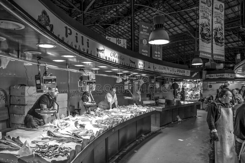 Gray Scale Photo Of A People In Market Free Public Domain Cc0 Image