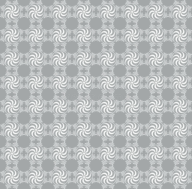 Download Gray Seamless Damask Background Stock Photography - Image: 12270242