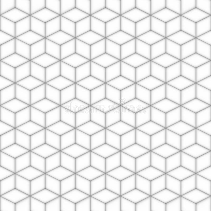 Gray seamless square pattern. Abstract background. stock illustration