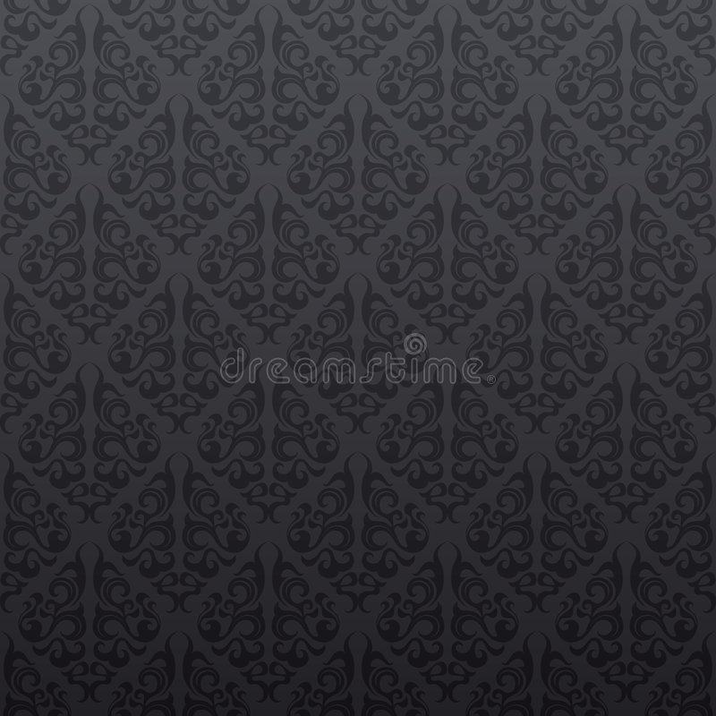 Download Gray Seamless Vine Wallpaper Stock Illustration - Illustration of abstract, fashioned: 8582764