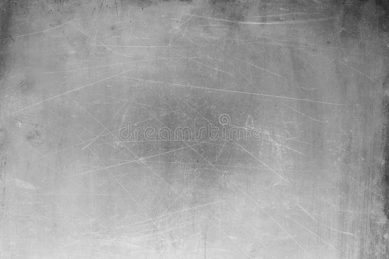 Gray sheet metal background, brushed steel texture royalty free stock photos