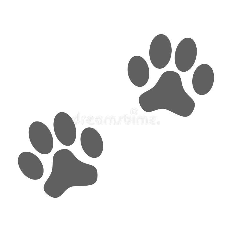 Free Gray Signs Paws Prints Stock Photos - 145820813