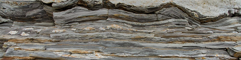 Gray Slate Rock imagens de stock