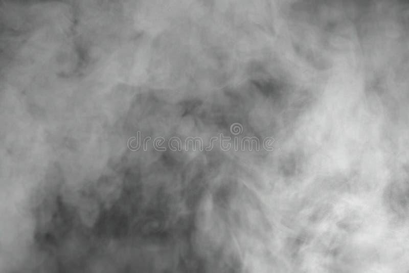 Gray smoke stock photography