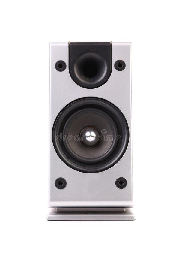 Download Gray sound speaker. stock photo. Image of music, listen - 33552060