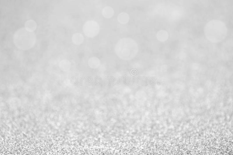 Gray sparkle glitter for Christmas background.  royalty free stock images