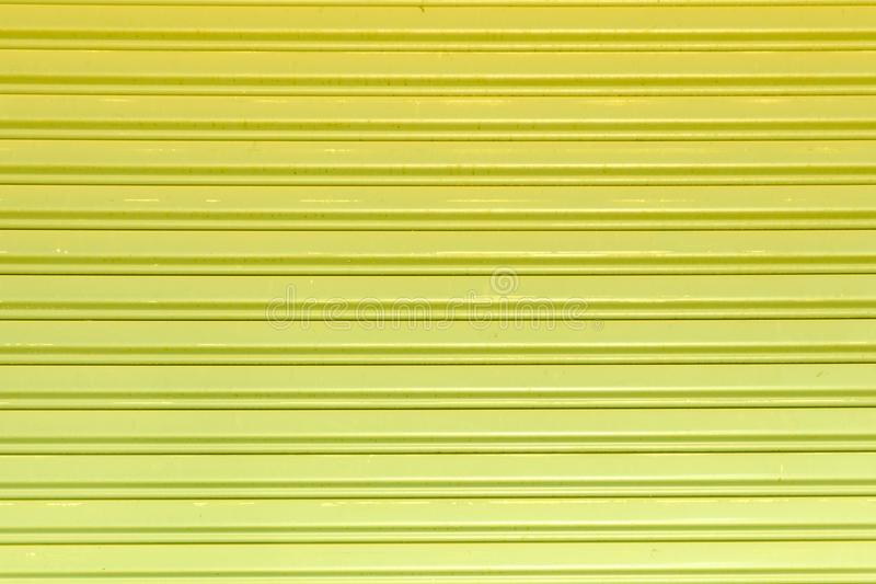 Gray Steel sliding door background stock photo