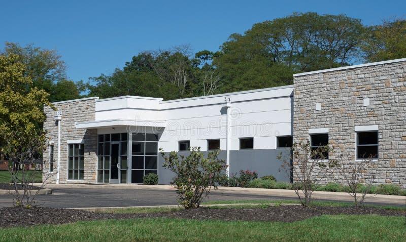 Gray Stone Generic Building imágenes de archivo libres de regalías
