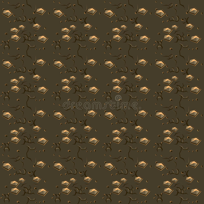 Gray Stone and Soil Texture, Vector Background royalty free illustration