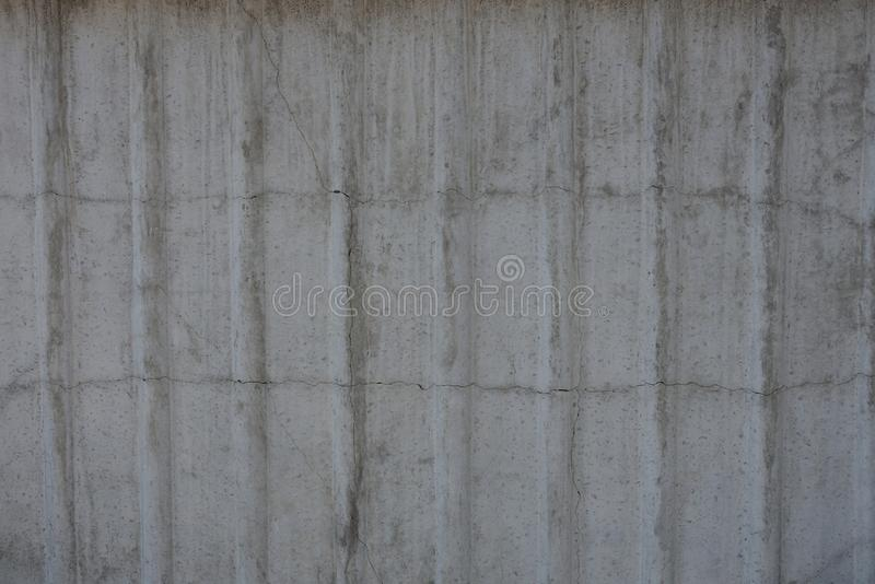 Gray stone texture from old striped concrete wall royalty free stock photo