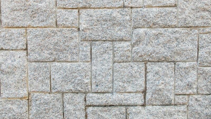 Gray Stone Wall Background Texture léger utilisé comme calibre images libres de droits