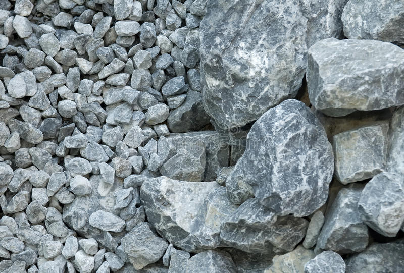 Download Gray stones stock photo. Image of crushed, pebbles, construction - 23386220