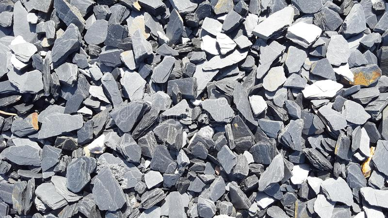gray stones as the texture of different shapes royalty free stock images