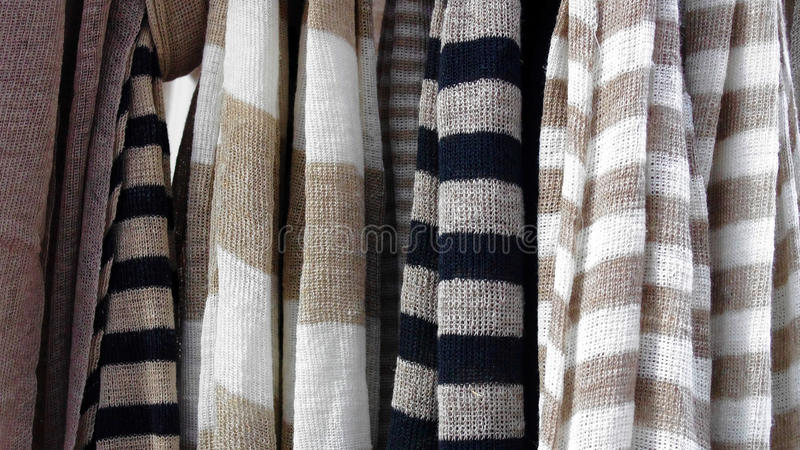 Gray stripped textile stock images