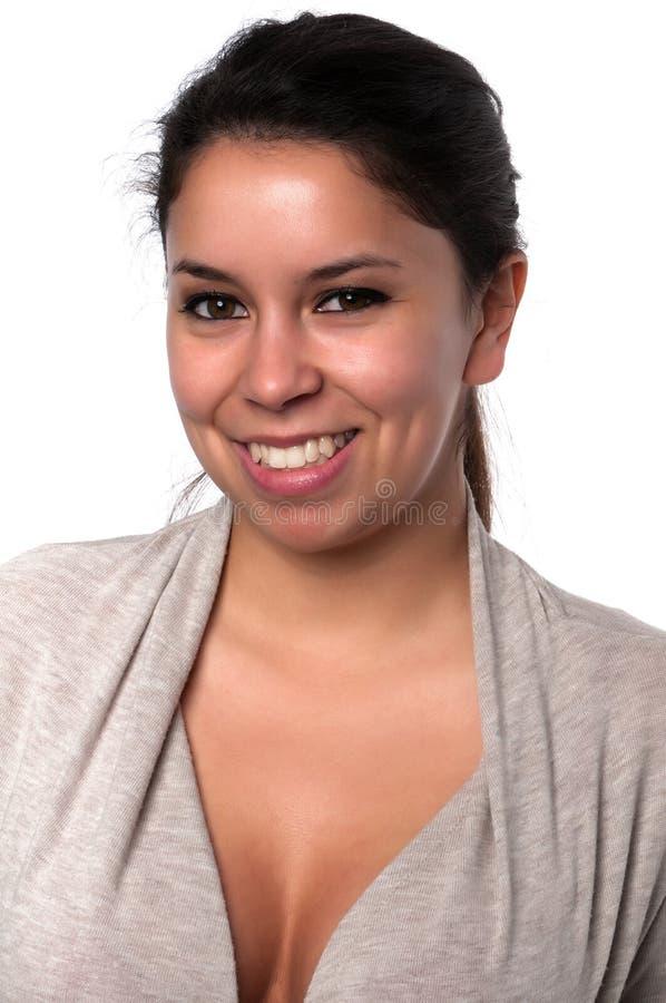 Download Gray sweater stock photo. Image of hair, latino, closeup - 23094386