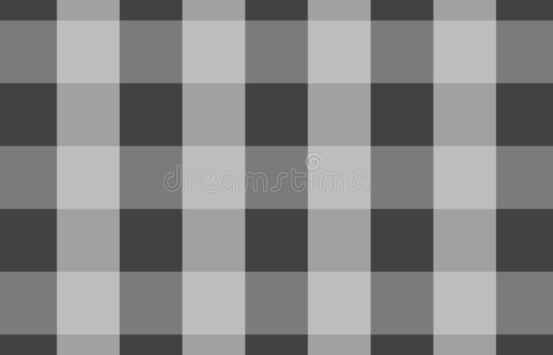 Gray tablecloth gingham pattern background for plaid,tablecloths for textile articles,vector illustration.EPS-10. Gray tablecloth gingham pattern background for royalty free illustration