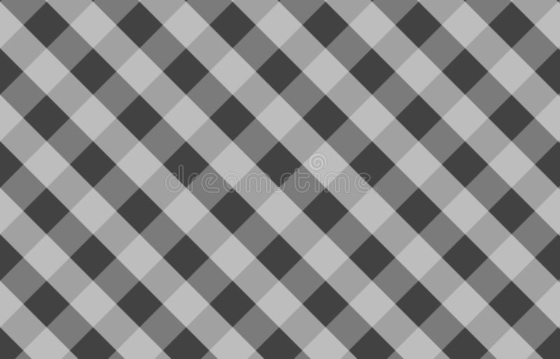 Gray tablecloth gingham pattern background for plaid,tablecloths for textile articles,vector illustration.EPS-10. Gray tablecloth gingham pattern background for vector illustration