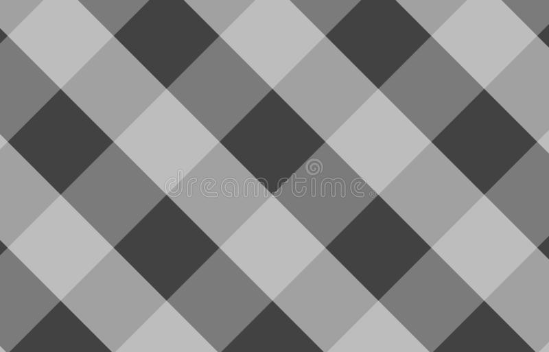 Gray tablecloth gingham pattern background for plaid,tablecloths for textile articles,vector illustration.EPS-10. Gray tablecloth gingham pattern background for stock illustration