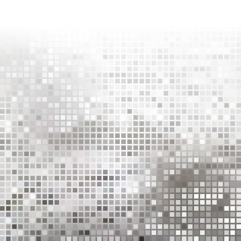Gray Technology Background astratto, vettore royalty illustrazione gratis