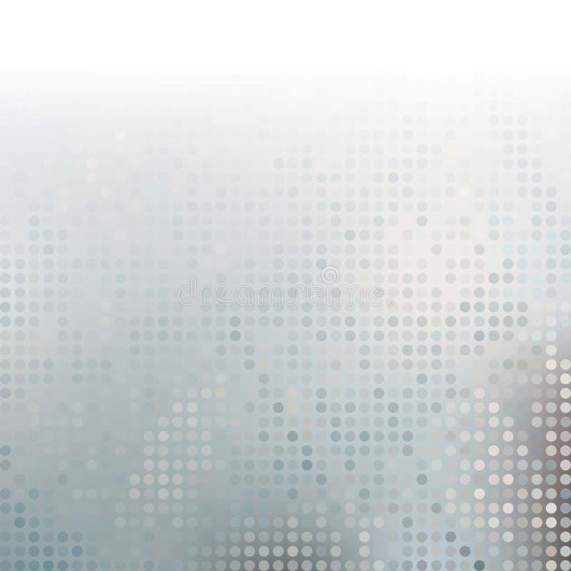 Gray Technology Background astratto, vettore illustrazione di stock
