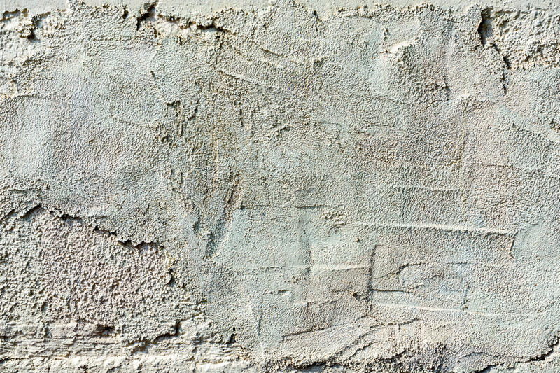 Gray texture old concrete wall. With cracks royalty free stock photography
