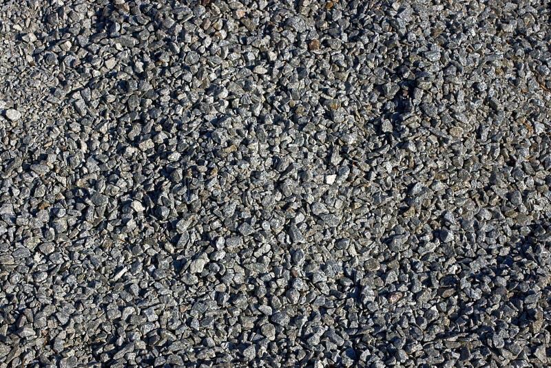 Gray texture of rubble stones stock photo
